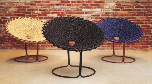 Studio Rik ten Velden - Femme chair, single knotted wire